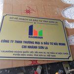 Biển Công Ty tại Hà Nội Miễn phí thiết kế, lấy ngay