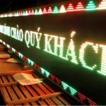 BIỂN LED MA TRẬN – Chỉ từ 5 triệu / m2 , lắp đặt nhanh