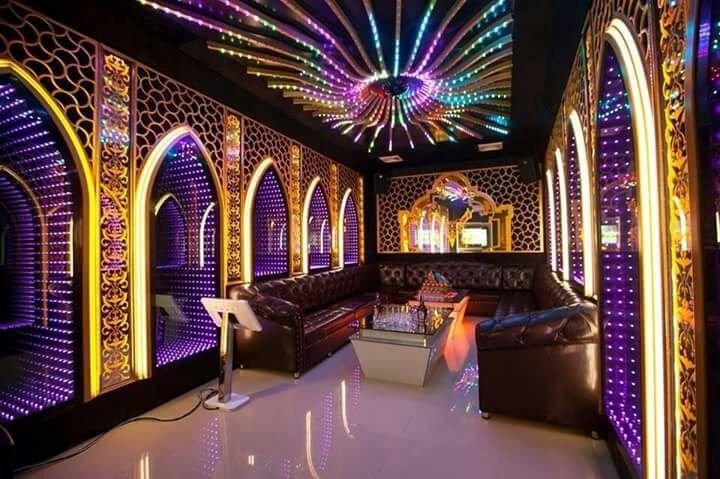 led full color trang trí quán karaoke