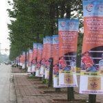 In bạt hiflex cho hội nghị, sự kiện – Làm biển quảng cáo rẻ, lắp đặt nhanh